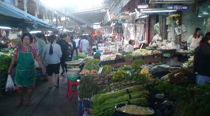 Morning Market Ban Chang (อำเภอ บ้านฉาง)
