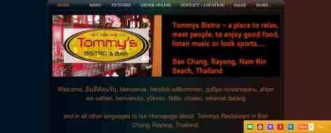 Tommys Restaurant,Tommys,Ban Chang,Rayong,Thailand,German Restaurant,Hamburger,Burger