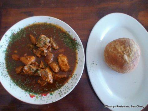 Hungarian Gulasch Soup,Gulasch,Tommys restaurant Ban Chang,Tommys