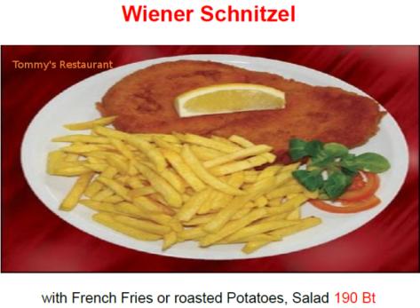 Schnitzel,WienerSchnitzel,restaurantbanchang,tommysrestaurant,restaurant,banchang,rayong