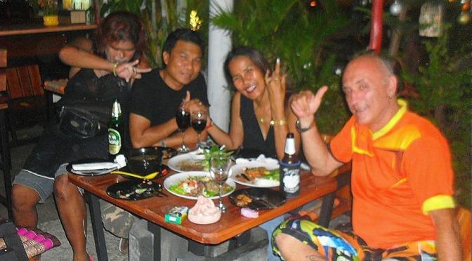 Nice Evening at Laem Mae Phim