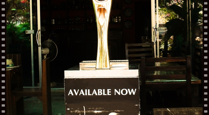 "San Miguel ""Negra"" Draught at E-Minor now"