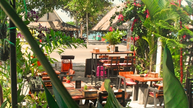 Restaurant at Laem Maephim beach for sale, Klaeng, Rayong